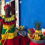 Palenquera - gastronomia de Cartagena