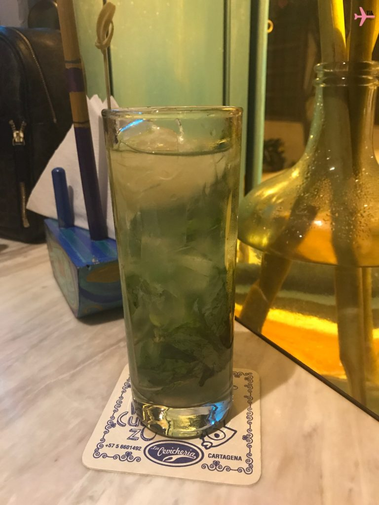 Mojito - gastronomia de Cartagena