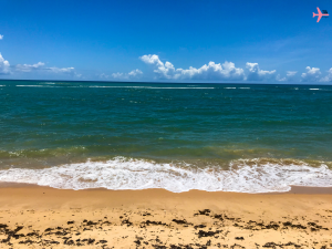 uma das praias mais badaladas de arraial