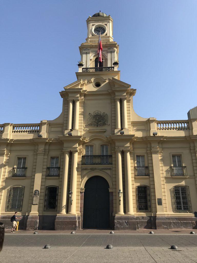 conexão em Santiago
