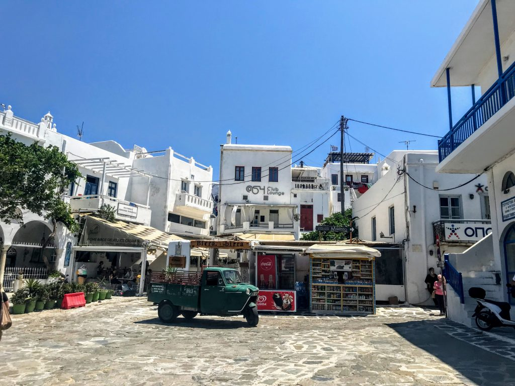Mykonos além das festas