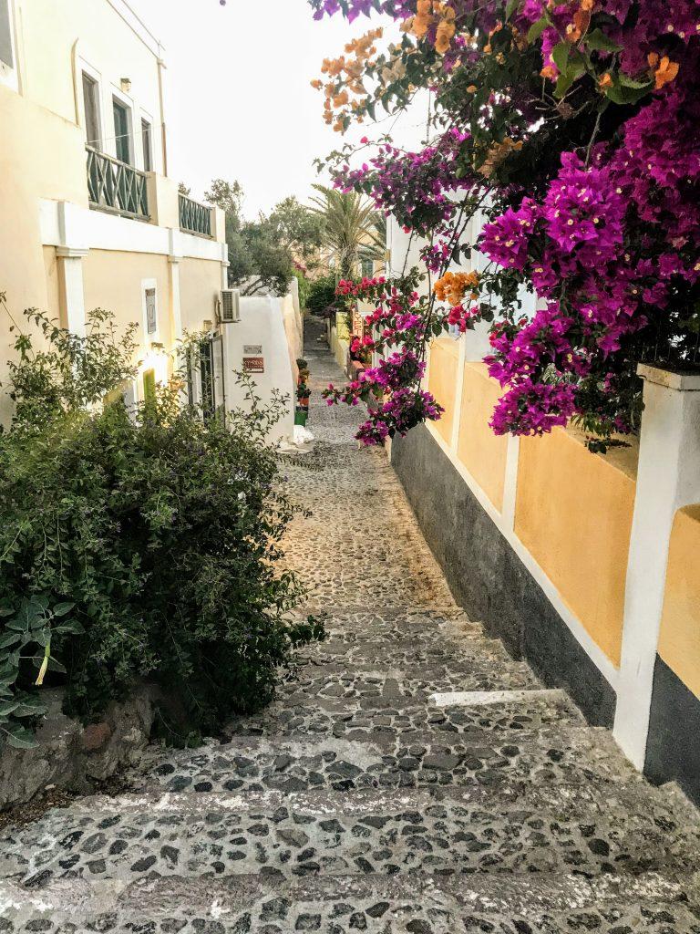 Dois dias em Santorini
