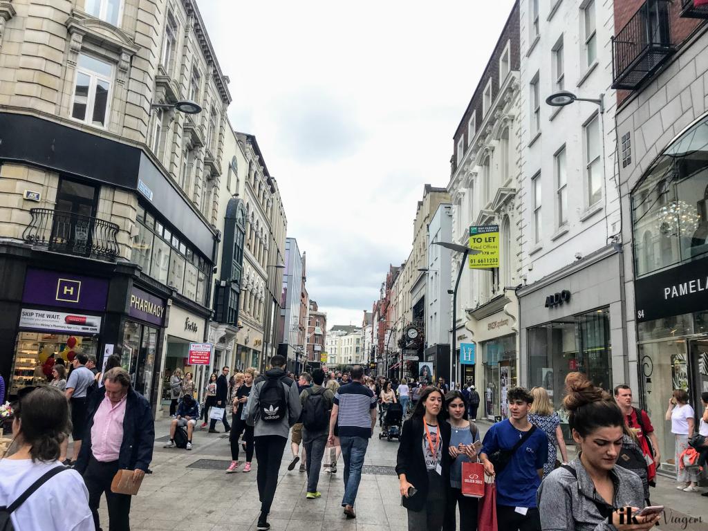 vivendo um sonho de adolescente em Dublin