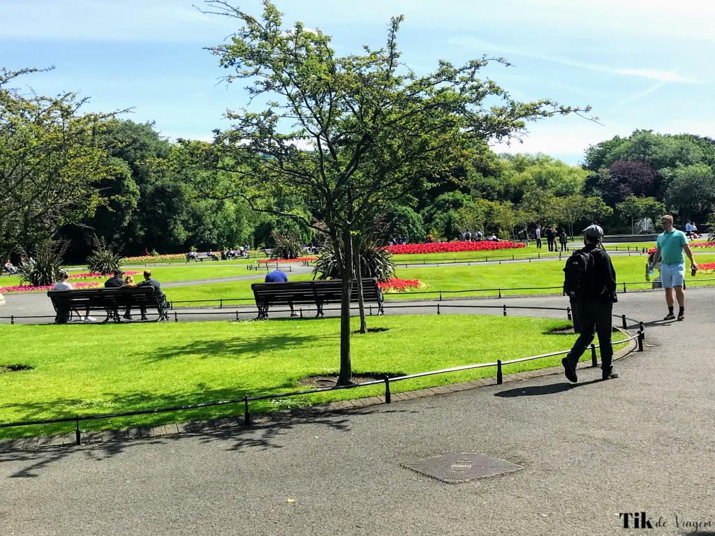 St Stephen´s Green Park