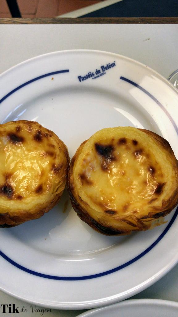 Almoço no Pastéis de Belém